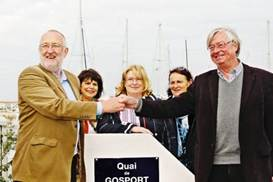 Rededication of the Quai de Gosport